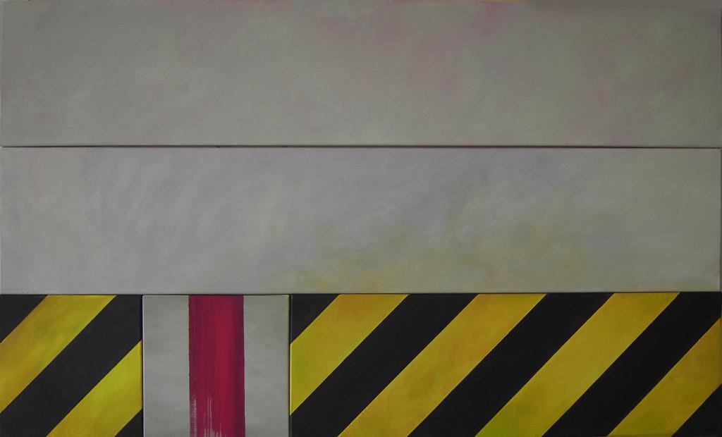 No Entry No Exit 1, Acryl, 90x150, 2012